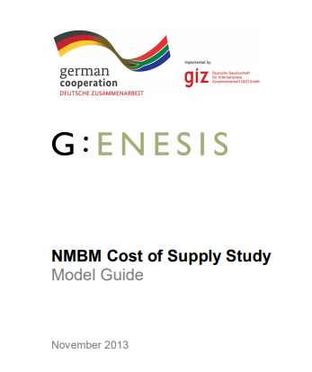 Cost of Supply Study: Spreadsheet Model Guide