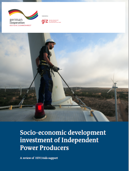 Socio-economic development investment of Independent Power Producers.  A review of HIV/Aids support.