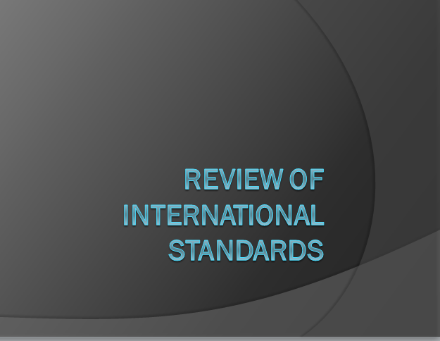 Solar Water Heater Standards: Standards Revew and Gap Analysis of Local and International Standards