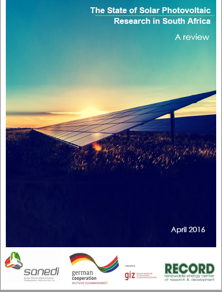 The State of Solar Photovoltaic Research in South Africa: A Review