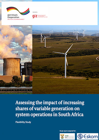 Assessing the impact of increasing shares of variable generation on system operations in South Africa (Flexibility Study)